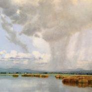 lago en el cielo