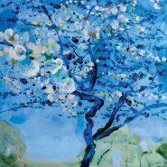Cerezo azul