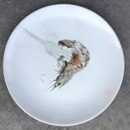 Tenedor con camarón